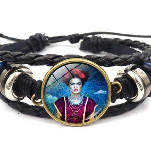 Jewelry - FRIDA KAHLO leather bracelet